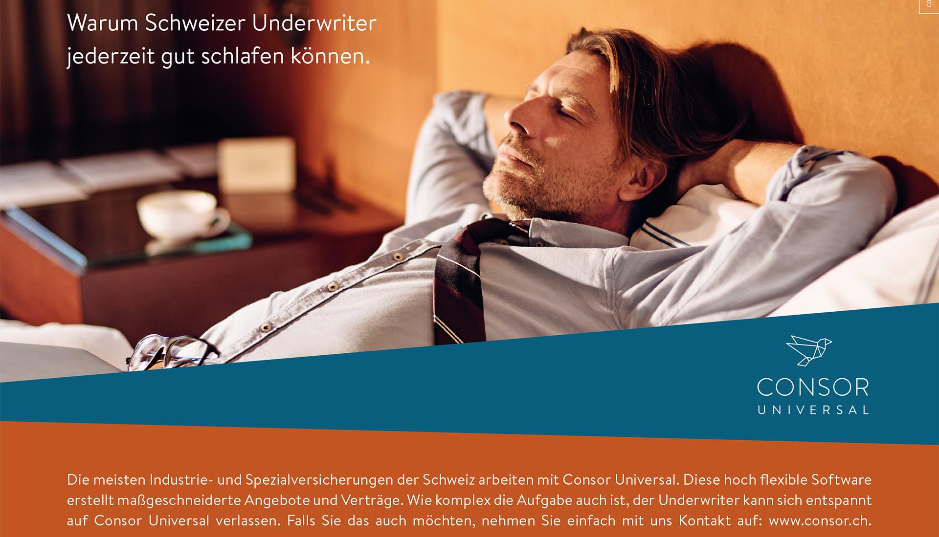 Warum Schweizer Underwriter Jederzeit Gut Schlafen Können